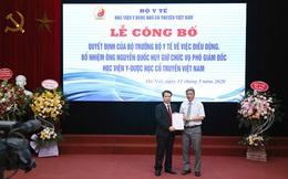 Công bố quyết định bổ nhiệm Phó Giám đốc Học viện Y - Dược học cổ truyền Việt Nam