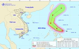 Xuất hiện bão giật cấp 12 gần Biển Đông