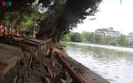 Người dân Thủ đô mong lún sụt quanh bờ Hồ Hoàn Kiếm sớm được khắc phục