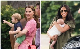 Công nương Kate vô tình gợi nhắc đến Meghan thông qua 1 chi tiết nhỏ cho thấy cuộc sống khác biệt hiện giờ của hai nàng dâu hoàng gia