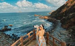 """Đâu phải ra nước ngoài mới thấy biển xanh cát trắng, vẻ đẹp """"trời cho"""" của Quy Nhơn khiến bao người phải trầm trồ!"""