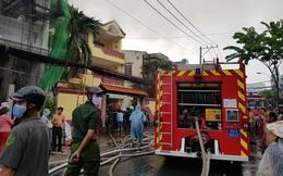 TP HCM: Cháy trên đường Tôn Đản - quận 4, khói bao trùm khu dân cư
