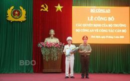 Bình Định có tân Giám đốc Công an tỉnh