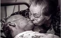 Bức ảnh khiến hàng tỷ người rơi lệ: Từ đôi thanh mai trúc mã trở thành vợ chồng và nụ hôn động viên tạo nên kỳ tích cho người đang nguy kịch