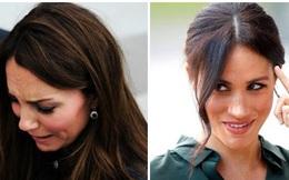 """Tiết lộ mới về """"mối thù hận"""" giữa Meghan Markle và chị dâu Kate hóa ra bắt nguồn từ lý do không ai ngờ, khiến hoàng gia chao đảo"""