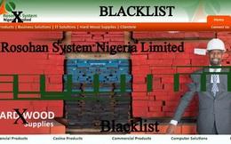 Cảnh báo đối tác kinh doanh xấu tại Nigeria