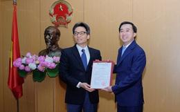 Trao quyết định bổ nhiệm Thứ trưởng Bộ Y tế Trần Văn Thuấn