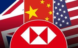 """Loạng choạng trên """"sợi dây địa chính trị"""", HSBC tiến thoái lưỡng nan giữa căng thẳng Đông - Tây"""