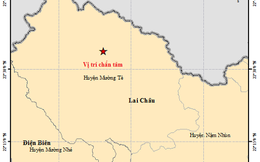 Vừa xảy ra động đất lớn nhất từ đầu năm ở Việt Nam