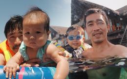 """Ông bố Hà Nội bỏ việc vì nghiện con: Cùng con """"đi đu đưa"""" từ 6 tháng tuổi, 3 tuổi đã """"thả"""" con đi khám phá đảo hoang, cứu hộ rùa"""