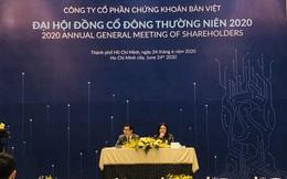 ĐHĐCĐ Chứng khoán Bản Việt: 2020 sẽ là năm bỏ đi vì lợi nhuận không đáng kể!