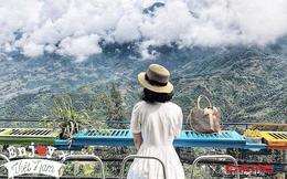 """Đến 5 quán cà phê view đẹp độc đáo tại Sapa để có thể """"chạm tay vào mây"""": Trải nghiệm không gian đồi núi hùng vĩ, mây trời thơ mộng cho một kỳ nghỉ khó quên"""
