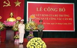 Giám đốc Công an tỉnh Hà Nam làm Cục trưởng CSGT