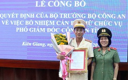 Công an tỉnh Kiên Giang có tân Phó Giám đốc