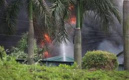 Vụ cháy hóa chất ở Long Biên: Phát sinh lượng lớn chất thải nguy hại