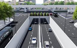 Hình ảnh thiết kế hầm chui Lê Văn Lương vượt ngầm Vành đai 3