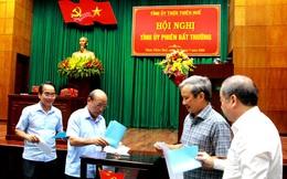 Giám đốc Công an Thừa Thiên Huế làm Phó bí thư Tỉnh ủy