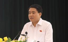 Chủ tịch Hà Nội Nguyễn Đức Chung tiếp xúc cử tri, nêu quy hoạch hai bên sông Hồng