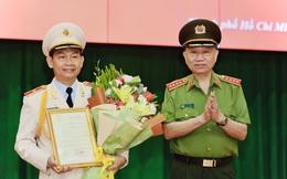 Phó Giám đốc Công an TPHCM được thăng hàm Thiếu tướng