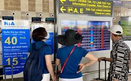 Sân bay Nội Bài dừng phát loa thông báo chuyến bay từ cuối tháng 7