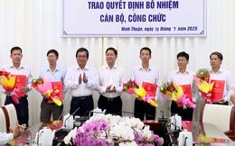 Ninh Thuận bổ nhiệm nhiều Giám đốc, Phó giám đốc Sở