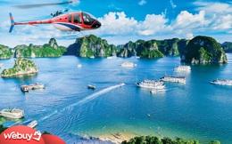 Đi đâu để trải nghiệm loạt tour bay ngắm cảnh bằng trực thăng/thủy phi cơ ở Việt Nam?