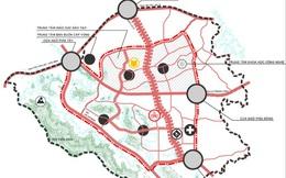 """Soi quy hoạch hệ thống giao thông """"khủng"""" tại đô thị vệ tinh lớn nhất Thủ đô"""