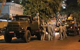 Clip, ảnh: Binh chủng hóa học tiêu độc đường phố và 2 bệnh viện có ca nhiễm Covid-19 ở Đà Nẵng
