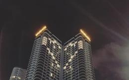 """Nhiều khách sạn tại Đà Nẵng """"thả tim"""" trên những tòa nhà, thể hiện tinh thần chống Covid-19"""