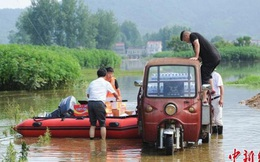 Trung Quốc: Gần 55 triệu lượt người chịu ảnh hưởng của lũ lụt