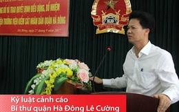 Chưa xem xét tư cách đại biểu HĐND với Bí thư quận Hà Đông Lê Cường