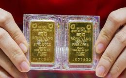 """""""Hoa mắt"""" với giá vàng, lại đảo chiều lên mốc 58 triệu đồng/lượng"""