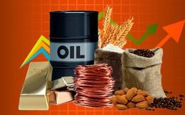 Thị trường ngày 30/7: Giá vàng, dầu và các hàng hoá khác tiếp tục tăng