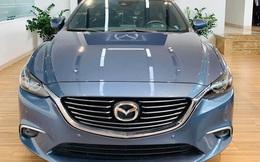 Mazda6 'full option' bán xả kho giá gần 750 triệu, rẻ hơn cả trăm triệu đồng so với Mazda3 mới