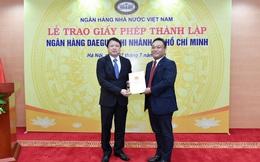 Thêm 1 ngân hàng Hàn Quốc có mặt tại Việt Nam