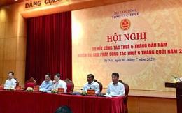 Cục trưởng Cục Thuế TP HCM xin bổ sung thêm lãnh đạo