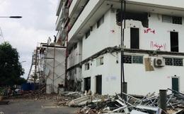 Quận Thủ Đức cưỡng chế tháo dỡ 2 chung cư mini sai phạm