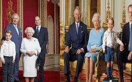 Hoàng gia Anh đăng ảnh Nữ hoàng cùng 3 người thừa kế mừng thập kỷ mới, Hoàng tử Geogre gây chú ý với vẻ trưởng thành sau 4 năm