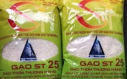 Gạo ngon nhất thế giới ST25 khan hàng trước Tết