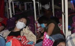 """""""Chuyên cơ mặt đất"""" 46 chỗ nhét 99 người về quê ăn Tết bị xử lý ở Đồng Nai"""