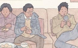 Bộ tranh: Đã về nhà ăn Tết thì hãy dành thời gian bên bố mẹ, tạm tha cho cái điện thoại đi