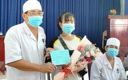 Khánh Hòa: Niềm vui vỡ òa của nữ lễ tân nhiễm virus corona được xuất viện
