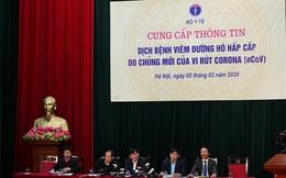 Bộ Y tế tổ chức họp báo lần 2 về dịch virus Corona tại Việt Nam: Khoảng 900 người đang được cách ly tại các tỉnh biên giới