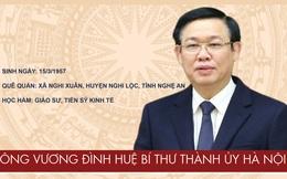 Chân dung tân Bí thư Thành ủy Hà Nội Vương Đình Huệ