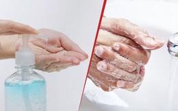 Trong dịch Covid-19, chọn rửa tay bằng xà phòng hay nước rửa tay khô hiệu quả hơn?