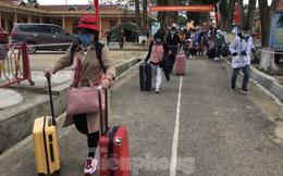 Hết thời hạn, 120 người rời khu cách ly Quân đội ở Lạng Sơn
