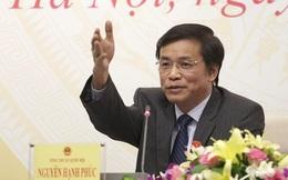 'Ủy viên Trung ương sẽ giảm ở Quốc hội'
