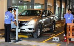 Gần 7 nghìn ô tô bị chặn đăng kiểm vì chưa nộp phạt