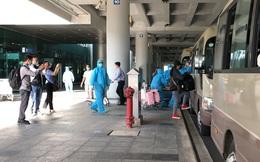 Sân bay Cần Thơ đón, phân loại cách ly hơn 1.000 người từ Hàn Quốc về