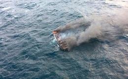 5 người Việt mất tích trong vụ cháy tàu cá ngoài khơi đảo Jeju